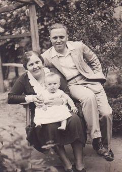 Hecker Henrik és felesége (kb.1932)