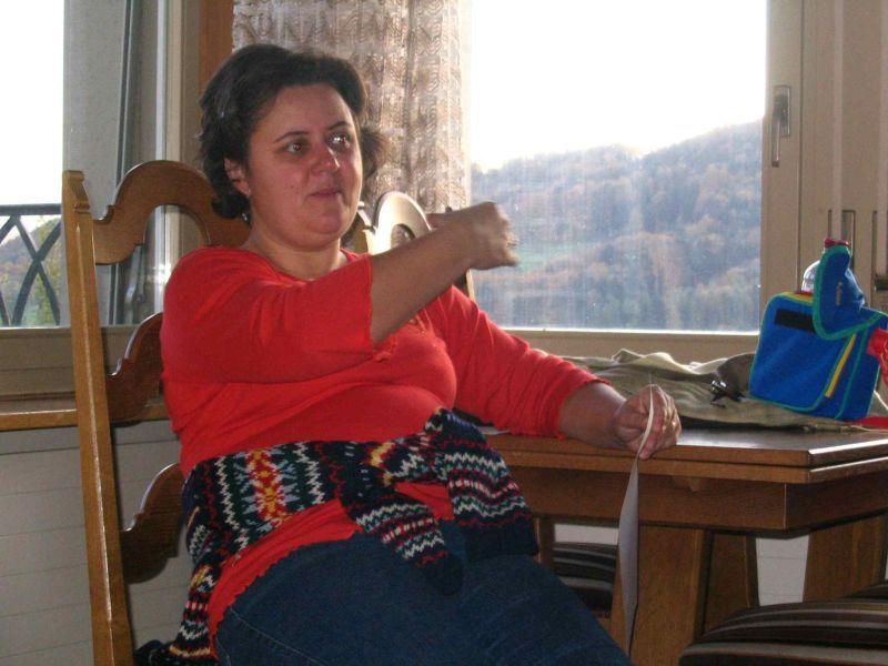 Jenei Grethe az egyik kiscsoport vezetője volt